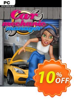 Car Mechanic Manager PC 프로모션 코드 Car Mechanic Manager PC Deal 프로모션: Car Mechanic Manager PC Exclusive Easter Sale offer for iVoicesoft