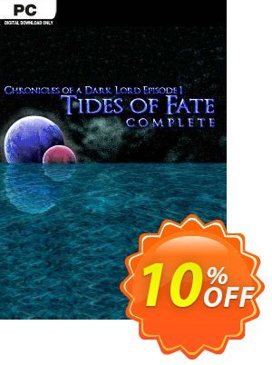 Chronicles of a Dark Lord Episode 1 Tides of Fate Complete PC 優惠券,折扣碼 Chronicles of a Dark Lord Episode 1 Tides of Fate Complete PC Deal,促銷代碼: Chronicles of a Dark Lord Episode 1 Tides of Fate Complete PC Exclusive Easter Sale offer for iVoicesoft