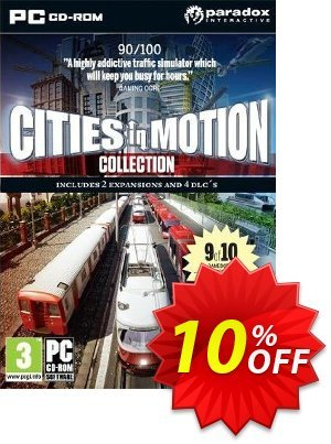 Cities in Motion Collection (PC) 프로모션 코드 Cities in Motion Collection (PC) Deal 프로모션: Cities in Motion Collection (PC) Exclusive Easter Sale offer for iVoicesoft