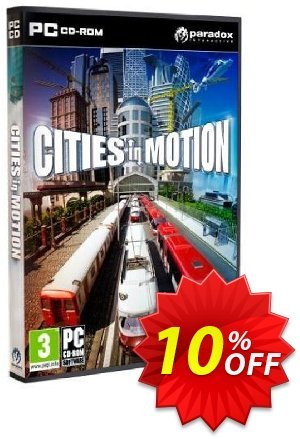 Cities In Motion (PC) Coupon discount Cities In Motion (PC) Deal. Promotion: Cities In Motion (PC) Exclusive Easter Sale offer for iVoicesoft