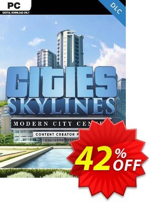 Cities: Skylines - Content Creator Pack Modern City Center PC discount coupon Cities: Skylines - Content Creator Pack Modern City Center PC Deal - Cities: Skylines - Content Creator Pack Modern City Center PC Exclusive Easter Sale offer for iVoicesoft