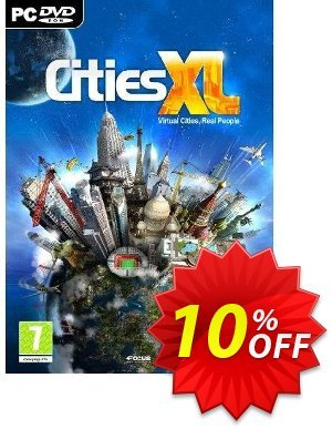 Cities XL (PC) discount coupon Cities XL (PC) Deal - Cities XL (PC) Exclusive Easter Sale offer for iVoicesoft