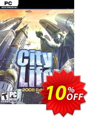 City Life 2008 PC 프로모션 코드 City Life 2008 PC Deal 프로모션: City Life 2008 PC Exclusive Easter Sale offer for iVoicesoft