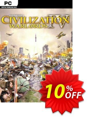 Civilization IV Warlords PC 프로모션 코드 Civilization IV Warlords PC Deal 프로모션: Civilization IV Warlords PC Exclusive Easter Sale offer for iVoicesoft