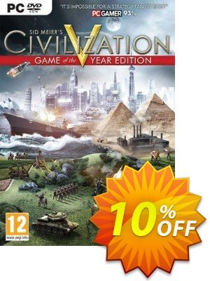 Civilization V 5 - Game Of The Year Edition PC Coupon discount Civilization V 5 - Game Of The Year Edition PC Deal. Promotion: Civilization V 5 - Game Of The Year Edition PC Exclusive Easter Sale offer for iVoicesoft