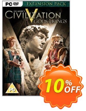 Civilization V 5 Gods and Kings (PC) discount coupon Civilization V 5 Gods and Kings (PC) Deal - Civilization V 5 Gods and Kings (PC) Exclusive Easter Sale offer for iVoicesoft