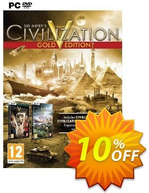 Civilization V 5 Gold Edition (PC) discount coupon Civilization V 5 Gold Edition (PC) Deal - Civilization V 5 Gold Edition (PC) Exclusive Easter Sale offer for iVoicesoft