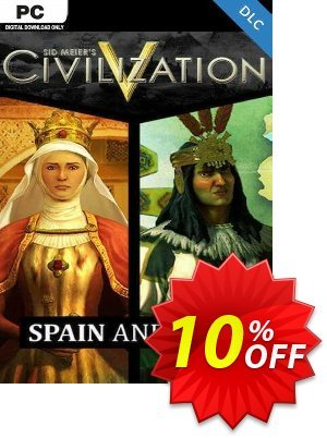Civilization V Civ and Scenario Double Pack Spain and Inca PC Coupon discount Civilization V Civ and Scenario Double Pack Spain and Inca PC Deal. Promotion: Civilization V Civ and Scenario Double Pack Spain and Inca PC Exclusive Easter Sale offer for iVoicesoft
