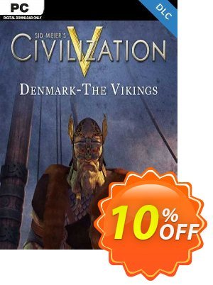 Civilization V Civ and Scenario Pack Denmark (The Vikings) PC discount coupon Civilization V Civ and Scenario Pack Denmark (The Vikings) PC Deal - Civilization V Civ and Scenario Pack Denmark (The Vikings) PC Exclusive Easter Sale offer for iVoicesoft