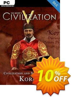 Civilization V Civ and Scenario Pack Korea PC Coupon discount Civilization V Civ and Scenario Pack Korea PC Deal. Promotion: Civilization V Civ and Scenario Pack Korea PC Exclusive Easter Sale offer for iVoicesoft