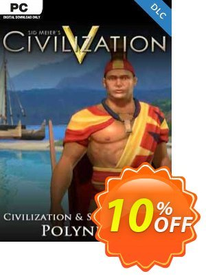 Civilization V Civ and Scenario Pack Polynesia PC Coupon, discount Civilization V Civ and Scenario Pack Polynesia PC Deal. Promotion: Civilization V Civ and Scenario Pack Polynesia PC Exclusive Easter Sale offer for iVoicesoft