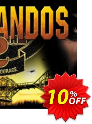 Commandos 2 Men of Courage PC discount coupon Commandos 2 Men of Courage PC Deal - Commandos 2 Men of Courage PC Exclusive Easter Sale offer for iVoicesoft