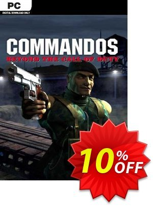 Commandos Beyond the Call of Duty PC discount coupon Commandos Beyond the Call of Duty PC Deal - Commandos Beyond the Call of Duty PC Exclusive Easter Sale offer for iVoicesoft
