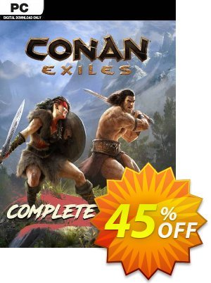 Conan Exiles - Complete Edition PC discount coupon Conan Exiles - Complete Edition PC Deal - Conan Exiles - Complete Edition PC Exclusive Easter Sale offer for iVoicesoft
