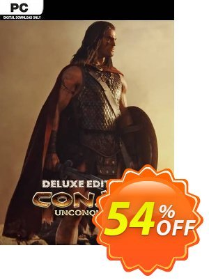 Conan Unconquered Deluxe Edition PC discount coupon Conan Unconquered Deluxe Edition PC Deal - Conan Unconquered Deluxe Edition PC Exclusive Easter Sale offer for iVoicesoft