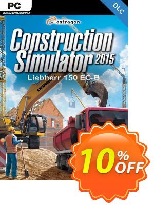 Construction Simulator 2015 Liebherr 150 ECB PC discount coupon Construction Simulator 2015 Liebherr 150 ECB PC Deal - Construction Simulator 2015 Liebherr 150 ECB PC Exclusive Easter Sale offer for iVoicesoft