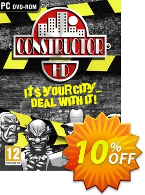 Constructor HD PC 프로모션 코드 Constructor HD PC Deal 프로모션: Constructor HD PC Exclusive Easter Sale offer for iVoicesoft