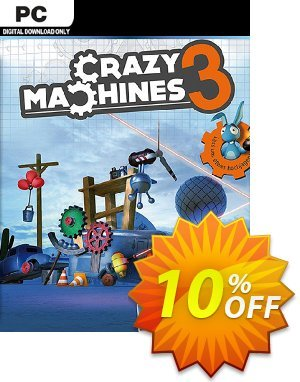 Crazy Machines 3 PC discount coupon Crazy Machines 3 PC Deal - Crazy Machines 3 PC Exclusive Easter Sale offer for iVoicesoft