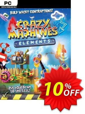 Crazy Machines Elements PC discount coupon Crazy Machines Elements PC Deal - Crazy Machines Elements PC Exclusive Easter Sale offer for iVoicesoft
