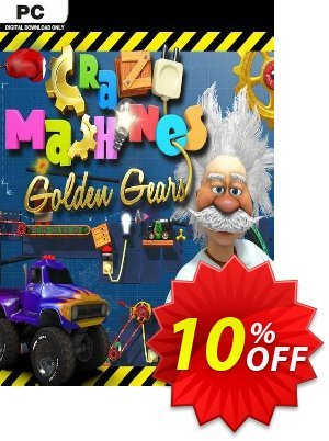 Crazy Machines Golden Gears PC discount coupon Crazy Machines Golden Gears PC Deal - Crazy Machines Golden Gears PC Exclusive Easter Sale offer for iVoicesoft