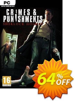 Crimes & Punishments: Sherlock Holmes PC discount coupon Crimes & Punishments: Sherlock Holmes PC Deal - Crimes & Punishments: Sherlock Holmes PC Exclusive Easter Sale offer for iVoicesoft