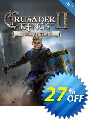 Crusader Kings II 2 PC Collection DLC discount coupon Crusader Kings II 2 PC Collection DLC Deal - Crusader Kings II 2 PC Collection DLC Exclusive Easter Sale offer for iVoicesoft