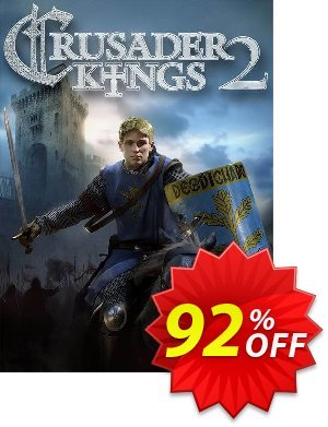 Crusader Kings II 2 - PC 프로모션 코드 Crusader Kings II 2 - PC Deal 프로모션: Crusader Kings II 2 - PC Exclusive Easter Sale offer for iVoicesoft