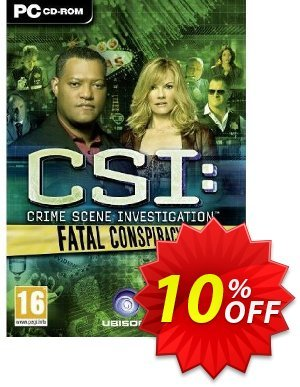 CSI: Fatal Conspiracy (PC) 프로모션 코드 CSI: Fatal Conspiracy (PC) Deal 프로모션: CSI: Fatal Conspiracy (PC) Exclusive Easter Sale offer for iVoicesoft