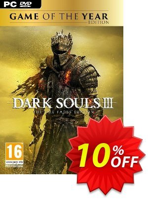 Dark Souls III 3 - The Fire Fades Edition (GOTY) PC discount coupon Dark Souls III 3 - The Fire Fades Edition (GOTY) PC Deal - Dark Souls III 3 - The Fire Fades Edition (GOTY) PC Exclusive Easter Sale offer for iVoicesoft