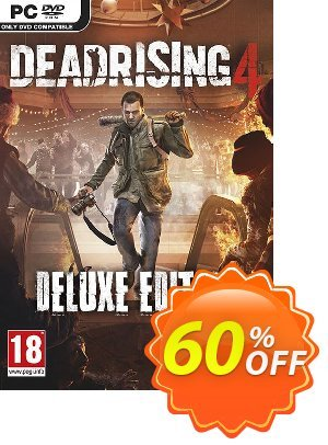 Dead Rising 4 Deluxe Edition PC discount coupon Dead Rising 4 Deluxe Edition PC Deal - Dead Rising 4 Deluxe Edition PC Exclusive Easter Sale offer for iVoicesoft