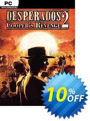 Desperados 2 Cooper's Revenge PC Coupon discount Desperados 2 Cooper's Revenge PC Deal. Promotion: Desperados 2 Cooper's Revenge PC Exclusive Easter Sale offer for iVoicesoft