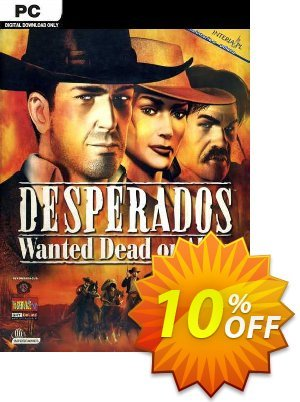 Desperados Wanted Dead or Alive PC discount coupon Desperados Wanted Dead or Alive PC Deal - Desperados Wanted Dead or Alive PC Exclusive Easter Sale offer for iVoicesoft