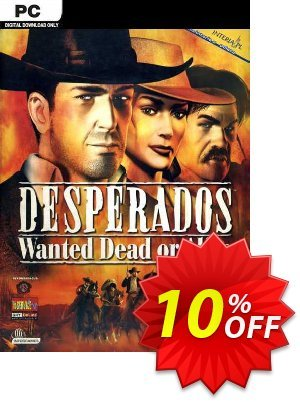 Desperados Wanted Dead or Alive PC Coupon discount Desperados Wanted Dead or Alive PC Deal. Promotion: Desperados Wanted Dead or Alive PC Exclusive Easter Sale offer for iVoicesoft