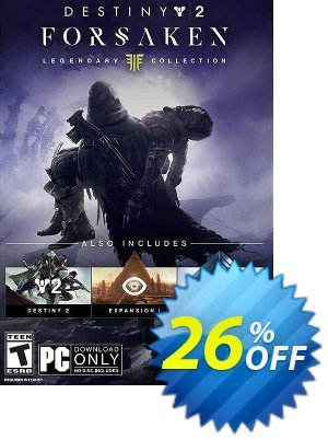Destiny 2 Forsaken - Legendary Collection PC (APAC) discount coupon Destiny 2 Forsaken - Legendary Collection PC (APAC) Deal - Destiny 2 Forsaken - Legendary Collection PC (APAC) Exclusive Easter Sale offer for iVoicesoft