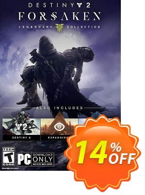 Destiny 2 Forsaken - Legendary Collection PC discount coupon Destiny 2 Forsaken - Legendary Collection PC Deal - Destiny 2 Forsaken - Legendary Collection PC Exclusive Easter Sale offer for iVoicesoft