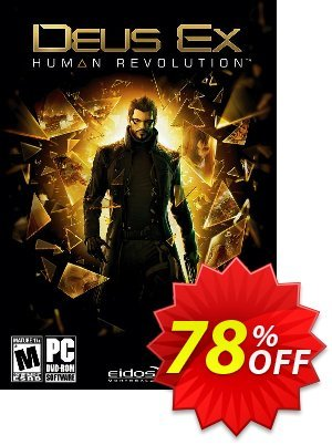 Deus Ex Human Revolution PC割引コード・Deus Ex Human Revolution PC Deal キャンペーン:Deus Ex Human Revolution PC Exclusive Easter Sale offer for iVoicesoft