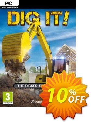 DIG IT! A Digger Simulator PC Coupon discount DIG IT! A Digger Simulator PC Deal. Promotion: DIG IT! A Digger Simulator PC Exclusive Easter Sale offer for iVoicesoft