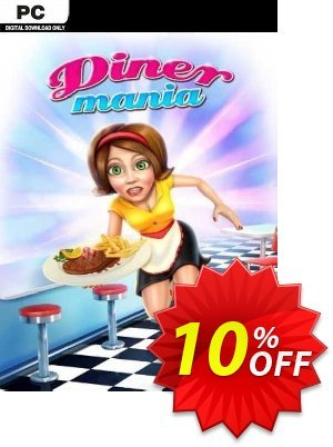 Diner Mania PC discount coupon Diner Mania PC Deal - Diner Mania PC Exclusive Easter Sale offer for iVoicesoft