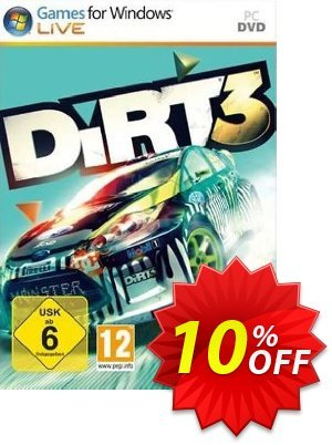DiRT 3 PC discount coupon DiRT 3 PC Deal - DiRT 3 PC Exclusive Easter Sale offer for iVoicesoft