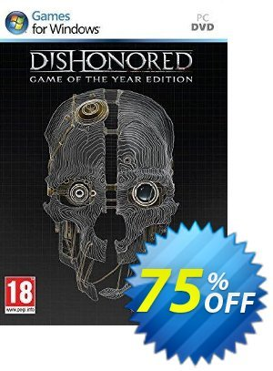 Dishonored Game Of The Year Edition (PC) discount coupon Dishonored Game Of The Year Edition (PC) Deal - Dishonored Game Of The Year Edition (PC) Exclusive Easter Sale offer for iVoicesoft