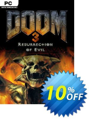 DOOM 3 Resurrection of Evil PC discount coupon DOOM 3 Resurrection of Evil PC Deal - DOOM 3 Resurrection of Evil PC Exclusive Easter Sale offer for iVoicesoft