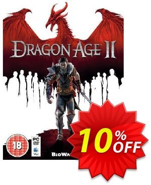 Dragon Age 2 (PC) Coupon discount Dragon Age 2 (PC) Deal. Promotion: Dragon Age 2 (PC) Exclusive Easter Sale offer for iVoicesoft