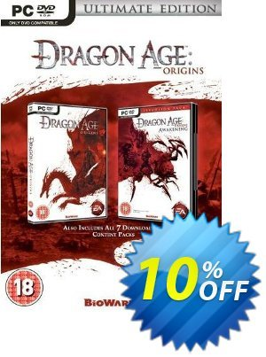 Dragon Age: Origins - Ultimate Edition (PC) Coupon discount Dragon Age: Origins - Ultimate Edition (PC) Deal. Promotion: Dragon Age: Origins - Ultimate Edition (PC) Exclusive Easter Sale offer for iVoicesoft