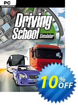 Driving School Simulator PC割引コード・Driving School Simulator PC Deal キャンペーン:Driving School Simulator PC Exclusive Easter Sale offer for iVoicesoft