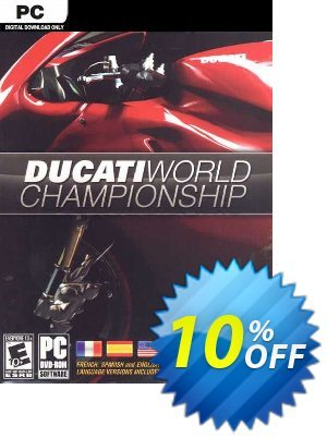 Ducati World Championship PC 프로모션 코드 Ducati World Championship PC Deal 프로모션: Ducati World Championship PC Exclusive Easter Sale offer for iVoicesoft