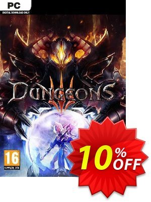 Dungeons III 3 PC discount coupon Dungeons III 3 PC Deal - Dungeons III 3 PC Exclusive Easter Sale offer for iVoicesoft