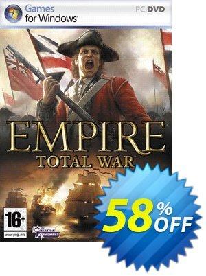 Empire: Total War (PC) Gutschein rabatt Empire: Total War (PC) Deal Aktion: Empire: Total War (PC) Exclusive Easter Sale offer for iVoicesoft