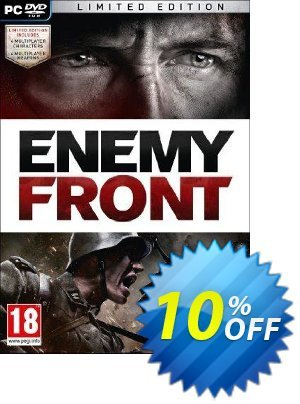 Enemy Front: Limited Edition PC discount coupon Enemy Front: Limited Edition PC Deal - Enemy Front: Limited Edition PC Exclusive Easter Sale offer for iVoicesoft