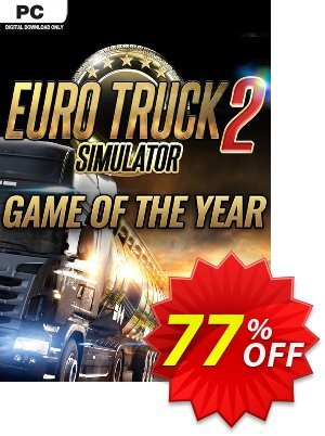 Euro Truck Simulator 2 - GOTY Edition PC discount coupon Euro Truck Simulator 2 - GOTY Edition PC Deal - Euro Truck Simulator 2 - GOTY Edition PC Exclusive Easter Sale offer for iVoicesoft