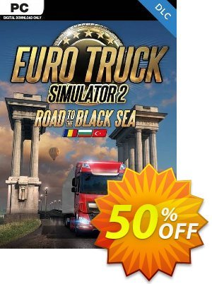 Euro Truck Simulator 2 PC - Road to the Black Sea DLC discount coupon Euro Truck Simulator 2 PC - Road to the Black Sea DLC Deal - Euro Truck Simulator 2 PC - Road to the Black Sea DLC Exclusive Easter Sale offer for iVoicesoft
